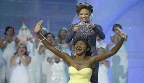 Beauty Contest and Ku Kux Klan