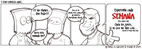 Web Comic 1 - Y TODO EMPIEZA AQUI