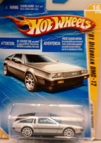 Hot Weels Delorean
